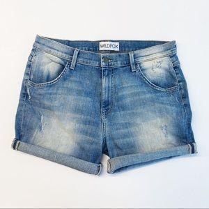 Wildfox Bijoux Boyfriend Shorts